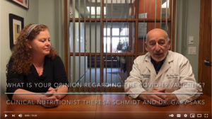 Chiropractor Gaylord MI Dr Gary Saks Talks COVID Vaccine