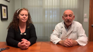 Chiropractor Gaylord MI Dr Saks With Theresa Schmidt
